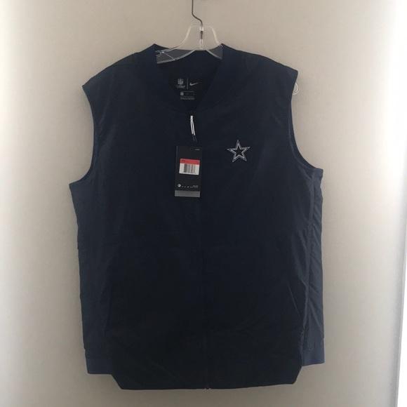 pretty nice 08255 87902 Dallas Cowboys Nike Vest NWT